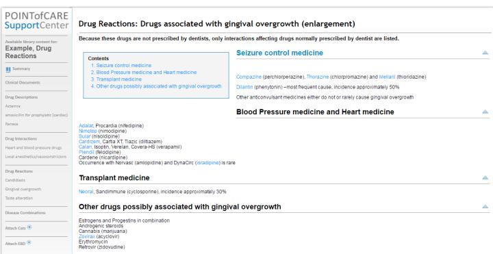 Drug reactions